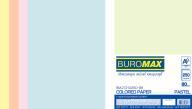 Набор цв.бумаги PASTEL, 5 цв., 250 л., А4, 80 г/м²