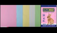 Набор цв.бумаги PASTEL, 5 цв., 50 л., А4, 80 г/м²