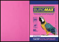 Бумага цветная INTENSIVE, малинов., 20 л., А4, 80 г/м²