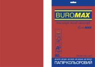 Бумага цветная INTENSIVE, EUROMAX, красная, 20 л., А4, 80 г/м²