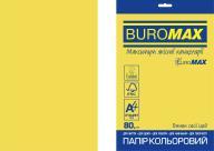 Бумага цветная  INTENSIVE, EUROMAX, желтая, 20 л., А4, 80 г/м²