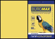 Бумага цветная INTENSIVE, золот., 50 л., А4, 80 г/м²