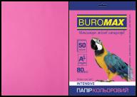 Бумага цветная INTENSIVE, малин., 50 л., А4, 80 г/м²