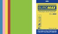 Набор цв.бумаги INTENSIVE, EUROMAX, 5 цв., 50 л., А4, 80 г/м²