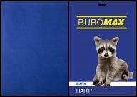 Бумага цветная DARK, т.-синяя, 20 л., А4, 80 г/м²