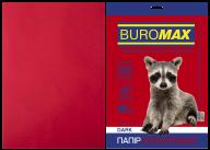 Бумага цветная DARK, бордовая, 20 л., А4, 80 г/м²