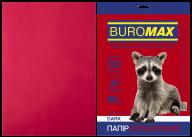 Бумага цветная DARK,  бордовая, 50 л., А4, 80 г/м²