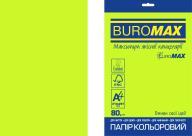 Бумага цветная NEON, EUROMAX, зеленая, 20л., А4, 80 г/м²