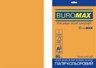 Бумага цветная NEON, EUROMAX, оранж., 20л., А4, 80 г/м²