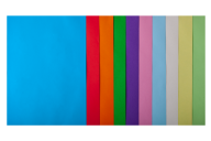 Набор цв.бумаги PASTEL+INTENSIVE, 10 цв., 50 л., А4, 80 г/м²