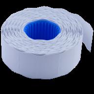 Ценник 26x16 мм (1000 шт, 12 м), фигурный, внутренняя намотка, белый