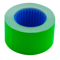 Ценник 26x16 мм (375 шт, 6 м), прямоугольный, внешняя намотка, зеленый
