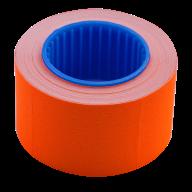 Ценник 26x16 мм (375 шт, 6 м), прямоугольный, внешняя намотка, оранжевый