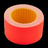 Ценник 30x20 мм (300 шт, 6 м), прямоугольный, внешняя намотка, красный