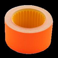 Ценник 30x20 мм (300 шт, 6 м), прямоугольный, внешняя намотка, оранжевый