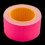 Ценник 30x20 мм (300 шт, 6 м), прямоугольный, внешняя намотка, малиновый