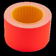 Ценник 35x25 мм (240 шт, 6 м), прямоугольный, внешняя намотка, красный