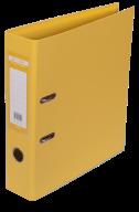 $Регистратор двухст., желтый, А4, 70 мм, ELITE