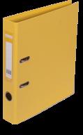 $Регистратор двухст., желтый, А4, 50 мм, ELITE