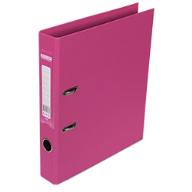 $Регистратор двухст., розовый, А4, 50 мм, ELITE
