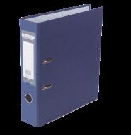 $Регистратор одност., синий, А4, 70 мм, LUX, JOBMAX