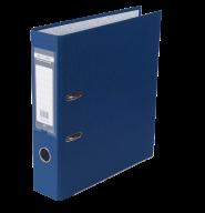 $Регистратор одност., темно-синий, А4, 70 мм, LUX, JOBMAX