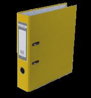 $Регистратор одност., желтый, А4, 70 мм, LUX, JOBMAX
