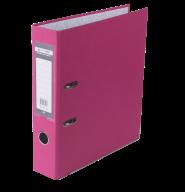 $Регистратор одност., розовый, А4, 70 мм, LUX, JOBMAX
