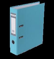 $Регистратор одност., голубой, А4, 70 мм, LUX, JOBMAX