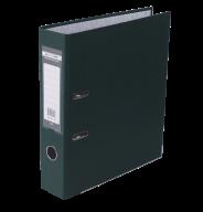 $Регистратор одност., темно-зеленый, А4, 70 мм, LUX, JOBMAX