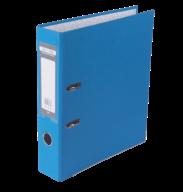 $Регистратор одност., светло-синий, А4, 70 мм, LUX, JOBMAX