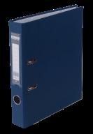 $Регистратор одност., темно-синий, А4, 50 мм, LUX, JOBMAX