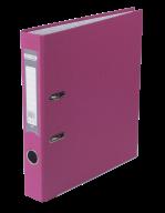 $Регистратор одност., розовый, А4, 50 мм, LUX, JOBMAX