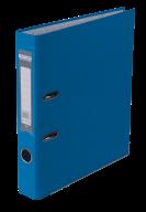 $Регистратор одност., светло-синий, А4, 50 мм, LUX, JOBMAX