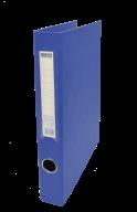 $Регистратор двухст., синий, А4, 40 мм, 2 D-обр.кольца