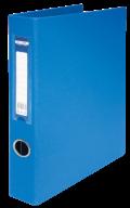 $Регистратор двухст., синий, А4, 40 мм, 4 D-обр.кольца