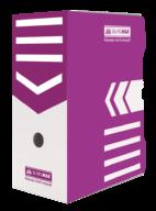 /Бокс для архивации документов, 150 мм, фиолетовый