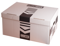 /Короб для архивных боксов, 560х380х265 мм, белый