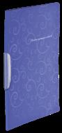@$Папка-скоросшиватель с поворотным прижимом, BAROCCO, А4, фиолетовая