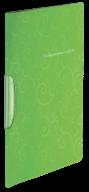 @$Папка-скоросшиватель с поворотным прижимом, BAROCCO, А4, салатовая