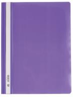 """$Папка-скоросшиватель с механизмом """"усики"""", А4, 120/160 мкм, фиолетовая"""