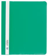 """$Папка-скоросшиватель с механизмом """"усики"""", А5, 120/160 мкм, зеленая"""