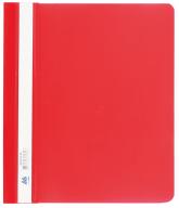 """$Папка-скоросшиватель с механизмом """"усики"""", А5, 120/160 мкм, красная"""