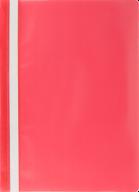 """$Папка-скоросшиватель с механизмом """"усики"""", JOBMAX, А4, 110/110 мкм, красная"""