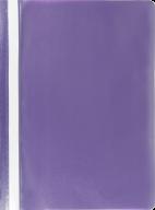 """$Папка-скоросшиватель с механизмом """"усики"""", JOBMAX, А4, 110/110 мкм, фиолетовая"""