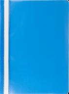 """$Папка-скоросшиватель с механизмом """"усики"""", JOBMAX, А4, 110/110 мкм, голубая"""
