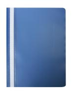 """@$Папка-скоросшиватель с механизмом """"усики"""", А4, 120/180 мкм, темно-синяя"""