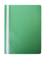 """@$Папка-скоросшиватель с механизмом """"усики"""", А4, 120/180 мкм, зеленая"""