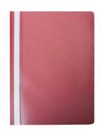 """@$Папка-скоросшиватель с механизмом """"усики"""", А4, 120/180 мкм, красная"""
