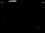 $Файл подвесной пластиковый, А4, черный